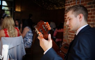 Guitarist for Wedding Breakfast - image by Neale James