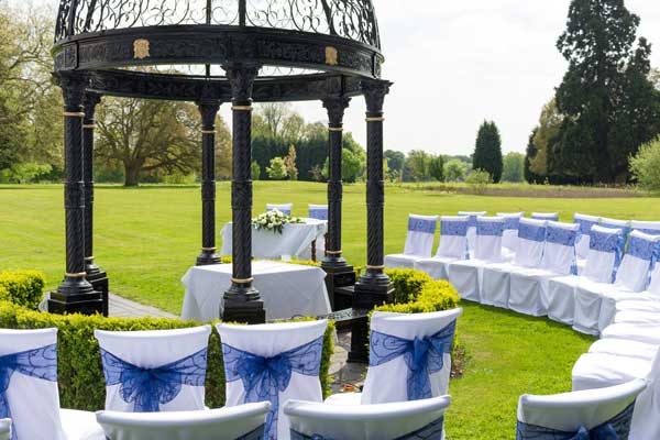 Haughton Hall Wedding Ceremony