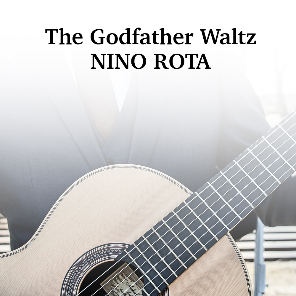 Godfather Waltz for solo classical guitar